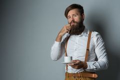 A young man with phone royalty free stock photo