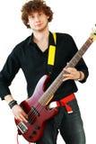 Young man playing guitar Royalty Free Stock Image