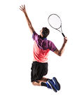 Young man is playing tennis Royalty Free Stock Photography