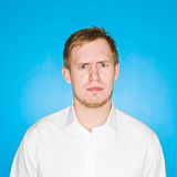 Young man portrait Stock Images