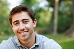 Young man portrait Stock Images