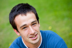 Young man portrait Royalty Free Stock Images