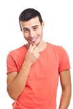 Young man portrait Stock Image