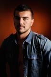 Young man portrait. In studio Stock Photos