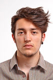 Young man portrait. Stock Photos