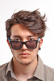 Young man portrait. Royalty Free Stock Photo