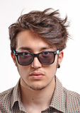 Young man portrait. Stock Image