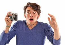 Young man portrait. Royalty Free Stock Photography