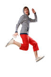 Young man poses Royalty Free Stock Photography