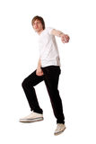 Young man poses stock images