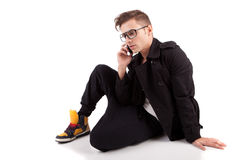 Young man posing Royalty Free Stock Photo