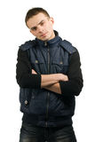 Young man posing Royalty Free Stock Images
