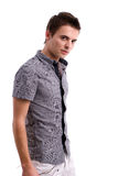 Young man posing Royalty Free Stock Photography