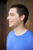 Young man profile Royalty Free Stock Photos