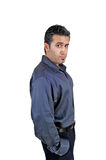Young man in profile. Royalty Free Stock Photo