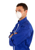 Young man in protective mask Royalty Free Stock Photos