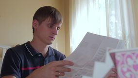 Young Man Read Manual