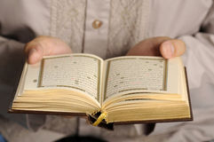Young Man Reading The Holy Koran Royalty Free Stock Photos