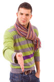 Young man ready for handshake Stock Photography