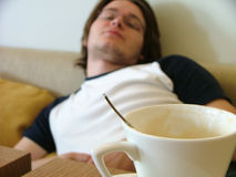 Young man relaxing Royalty Free Stock Photo