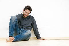 Young man relaxing Royalty Free Stock Photography