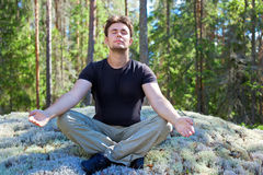 Young man resting Royalty Free Stock Images