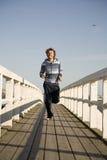Young man running Royalty Free Stock Photos