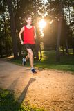 Young man running Royalty Free Stock Image
