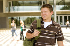 Young man at school Royalty Free Stock Photography