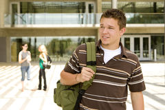 Young man at school Royalty Free Stock Images