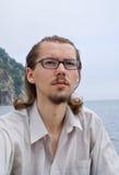 Young Man at Sea 12 Royalty Free Stock Image