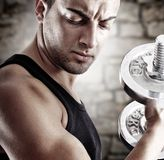 Young man in shape Royalty Free Stock Images