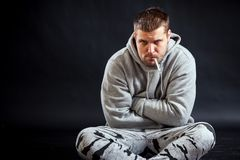 Young man sick Royalty Free Stock Photography