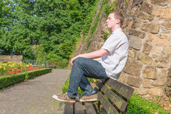 Young man 4 Royalty Free Stock Photography