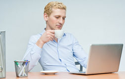Young Man Sitting Stock Photos