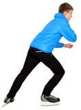 Young man skating Royalty Free Stock Images