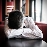 Young Man sleep Stock Images