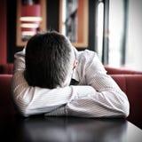 Young Man sleep Stock Images