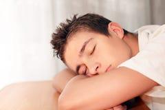 Young Man Sleeping Royalty Free Stock Photo