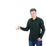 Young man smile Stock Photos