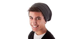 Young Man Smiling Royalty Free Stock Photography