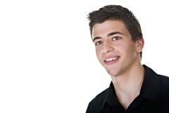Young Man Smiling Stock Images