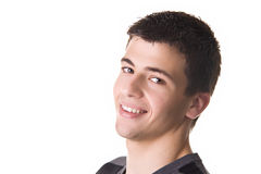 Young Man Smiling Stock Photography