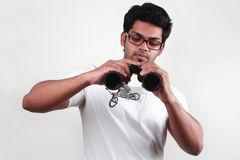 A young man with spectacles  Stock Photo