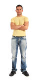 Young man standing Stock Image