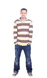 Young man standing Royalty Free Stock Photo