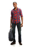 Young Man Standing Stock Photography