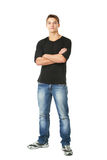 Young man standing Stock Photos
