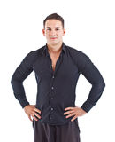 Young man standing with hand on hip Stock Photography