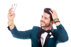Young man style Stock Images